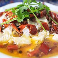 Boiled Fish Fillet with Chili Sauce